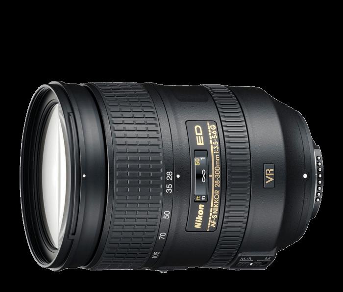 Objetiva AF-S NIKKOR 28-300mm f/3.5-5.6G ED VR