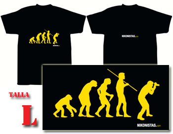 T-shirt EVOLUCIÓN Tamanho L