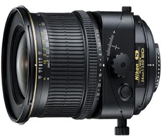 Objetiva PC-E NIKKOR 24mm f/2.8D ED