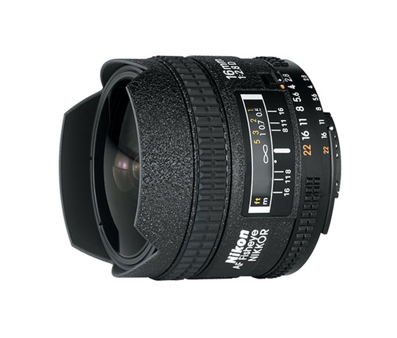 Objetiva AF NIKKOR 16mm f/2.8D FE