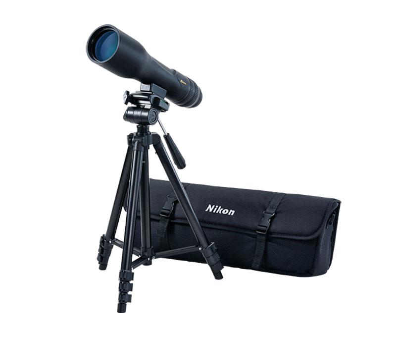 Telescópio terrestre Nikon PROSTAFF 3 16-48x60 (Inclui bolsa de transporte e tripé compacto)