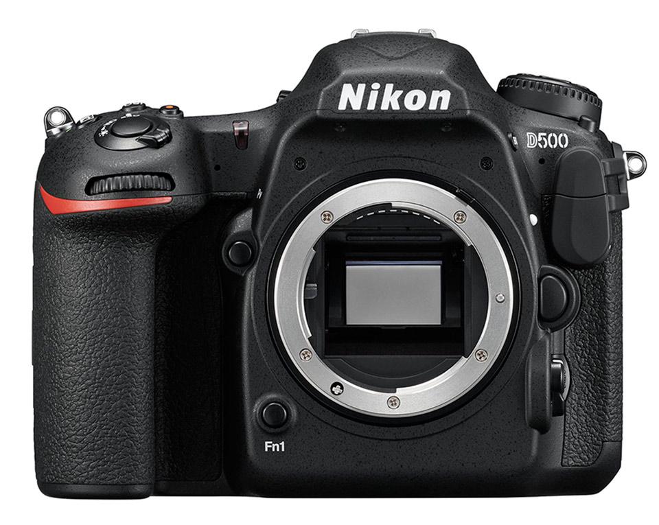 Câmera Nikon D500 (Zero Shot)