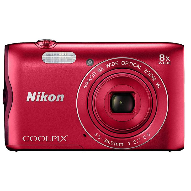 Câmera Nikon COOLPIX A300 Red