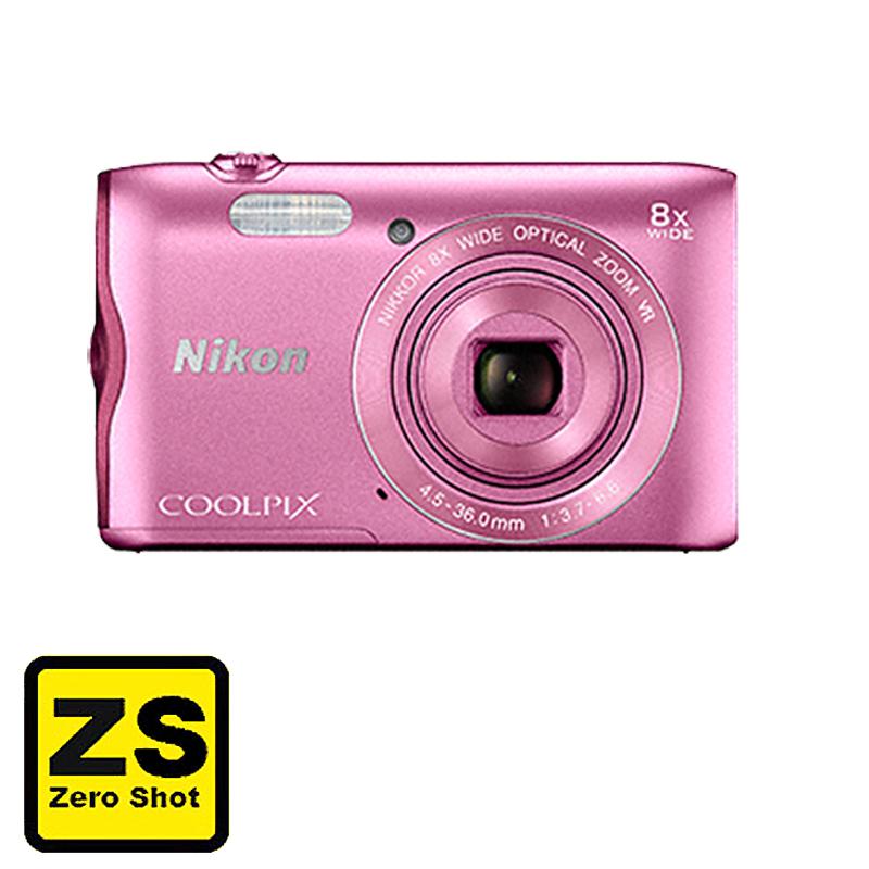 Câmera Nikon COOLPIX A300 Pink (Zero Shot)