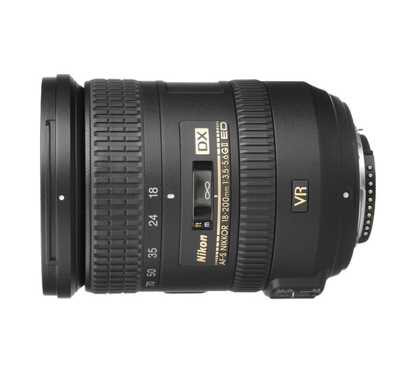 Objetiva AF-S DX NIKKOR 18-200mm f/3.5-5.6G ED VRII