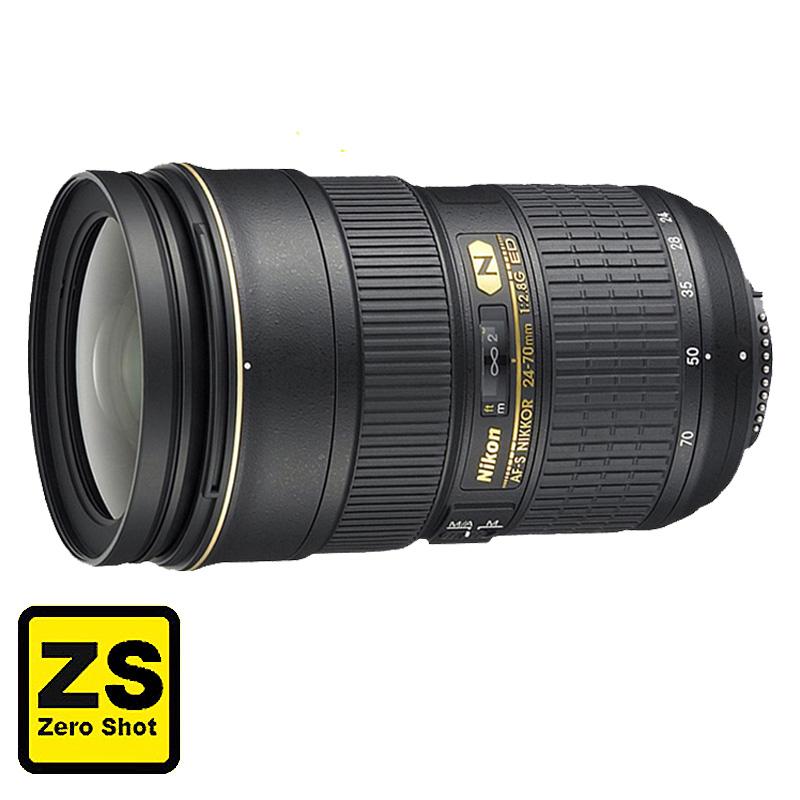 Objetiva AF-S NIKKOR 24-70mm f/2.8G ED (Zero Shot)