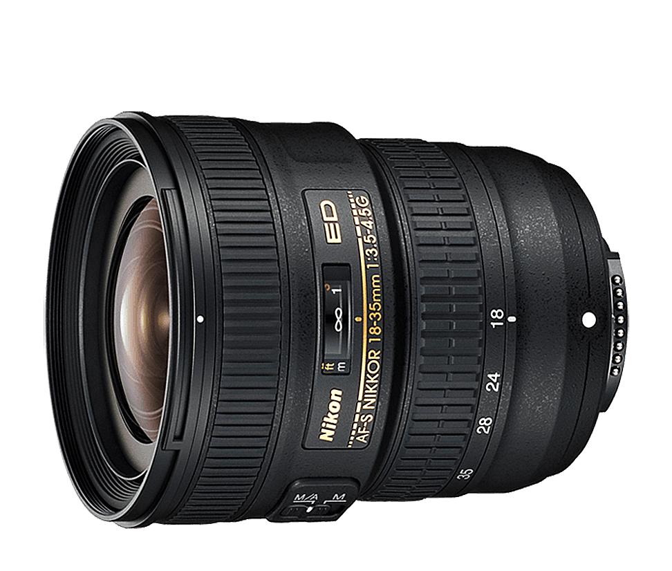 Objetiva AF-S NIKKOR 18-35mm f/3.5-4.5G ED
