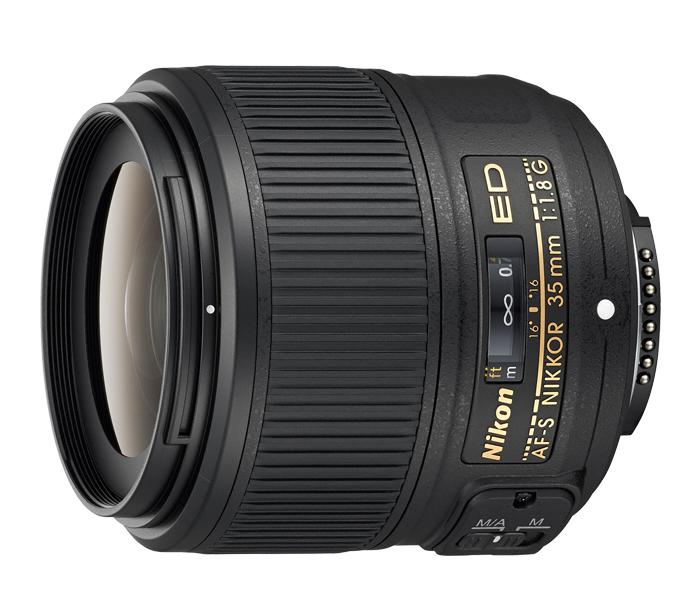 Objetiva AF-S NIKKOR 35mm f/1.8G ED