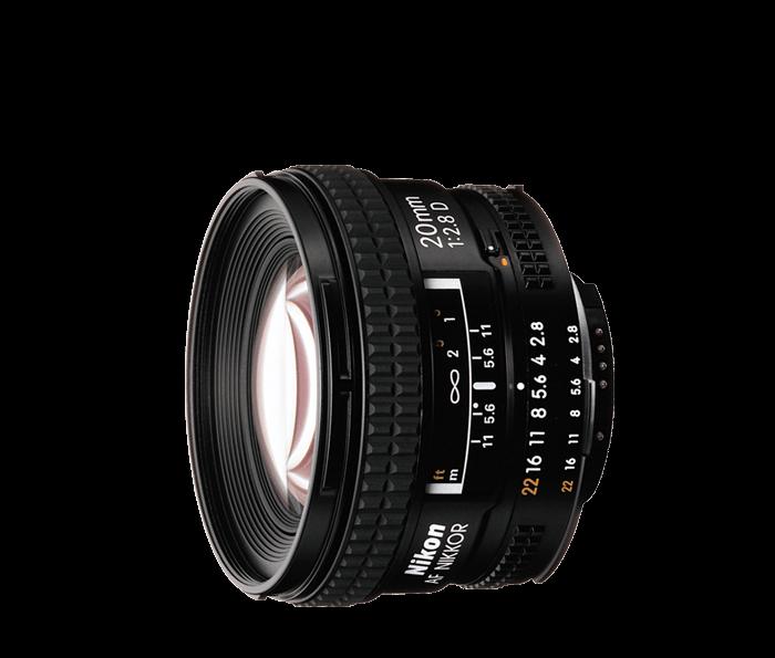 Objetiva AF NIKKOR 20mm f/2.8D