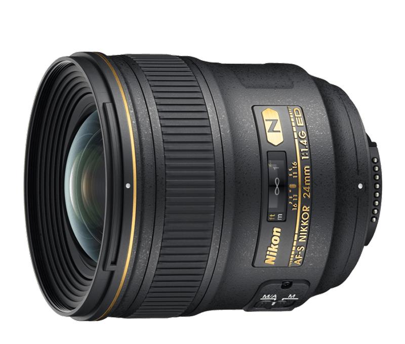 Objetiva AF-S NIKKOR 24mm f/1.4G ED