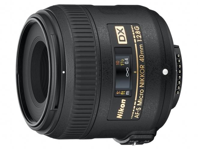 Objetiva AF-S DX Micro NIKKOR 40mm f/2.8G