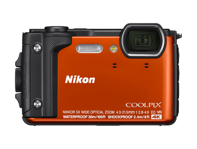 Câmera Nikon COOLPIX  W300 Orange
