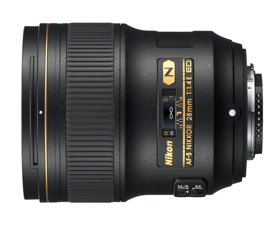 Objetiva AF-S NIKKOR 28mm f/1.4E ED