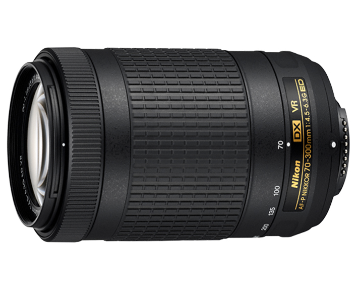 Objetiva AF-P DX NIKKOR 70-300mm f/4.5-6.3G ED VR ( Zero Shots)
