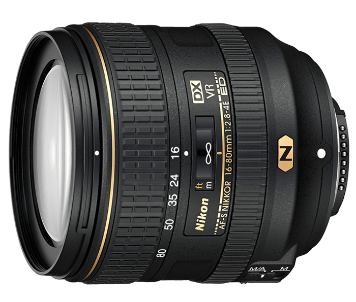 Objetiva AF-S DX NIKKOR 16-80mm f/2.8-4E ED VR
