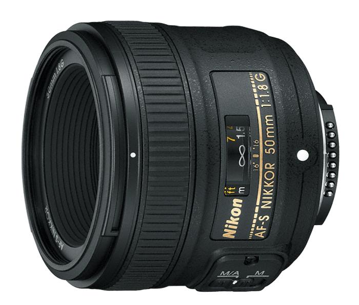 Objetiva AF-S NIKKOR 50mm f/1.8G