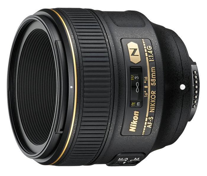 Objetiva AF-S NIKKOR 58mm f/1.4G