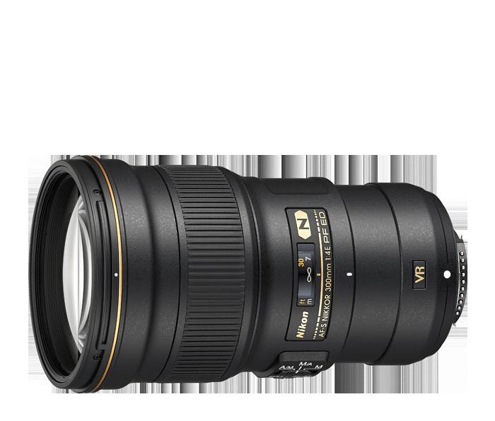 Objetiva AF-S NIKKOR 300mm f/4 PF ED VR