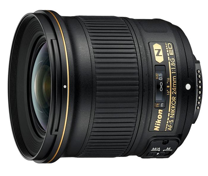 Objetiva AF-S NIKKOR 24mm f/1.8G ED