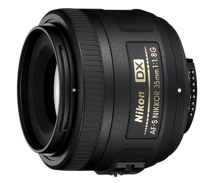 Objetiva AF-S DX NIKKOR 35mm f/1.8G