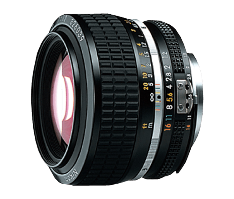 Objetiva NIKKOR 50mm f/1.2
