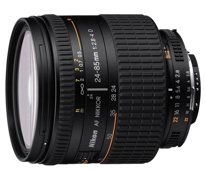 Objetiva AF-NIKKOR 24-85mm f/2.8-4D IF