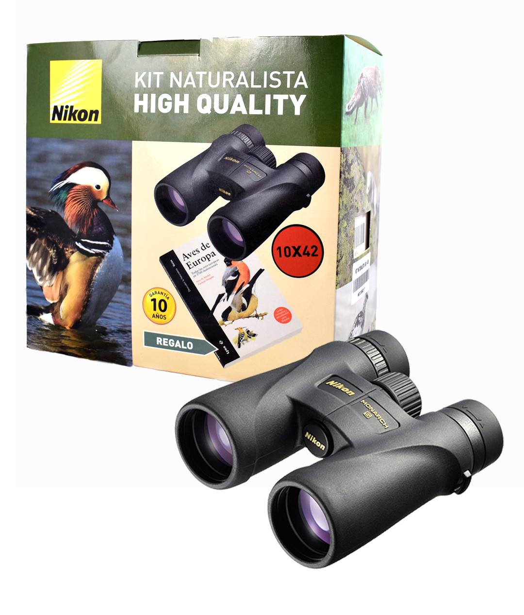 Kit Naturalista HQ 2 Binóculos Nikon MONARCH 5 10x42
