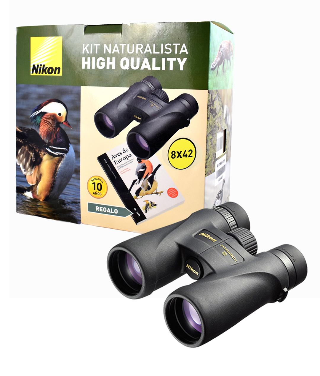 Kit Naturalista HQ 1 Binóculos Nikon MONARCH 5 8x42