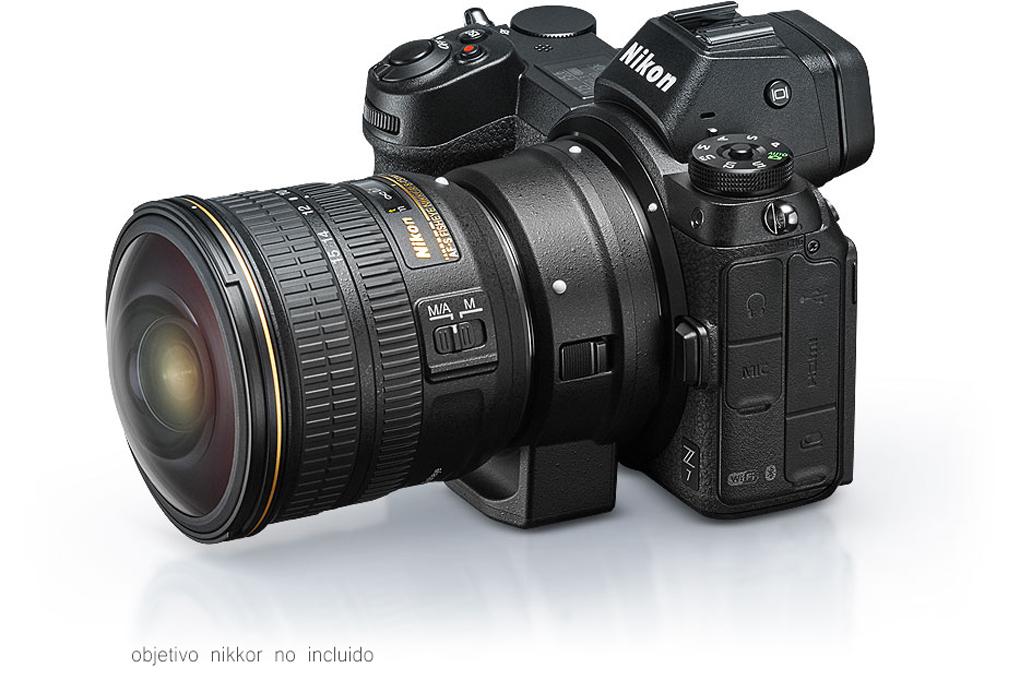 Nikon Z7 + Adaptador FTZ