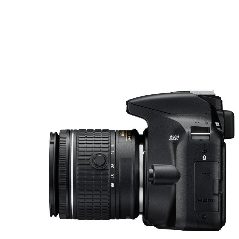 Nikon-D3500+AF-P-DX-NIKKOR-18-55mm VR-tienda-nikonista