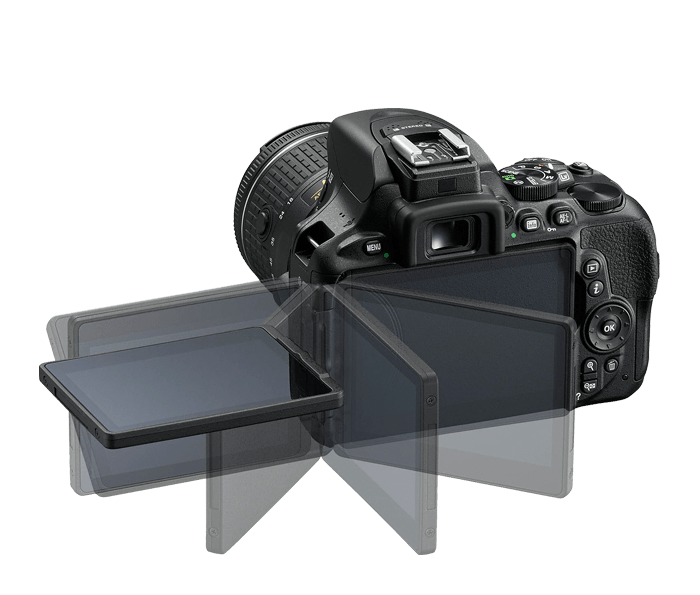 Cámara Nikon D5600 + Objetivo AF-P DX NIKKOR 18-55mm f/3.5-5.6G VR + Objetivo AF-P DX NIKKOR 70-300 mm f/4.5-5.6G VR