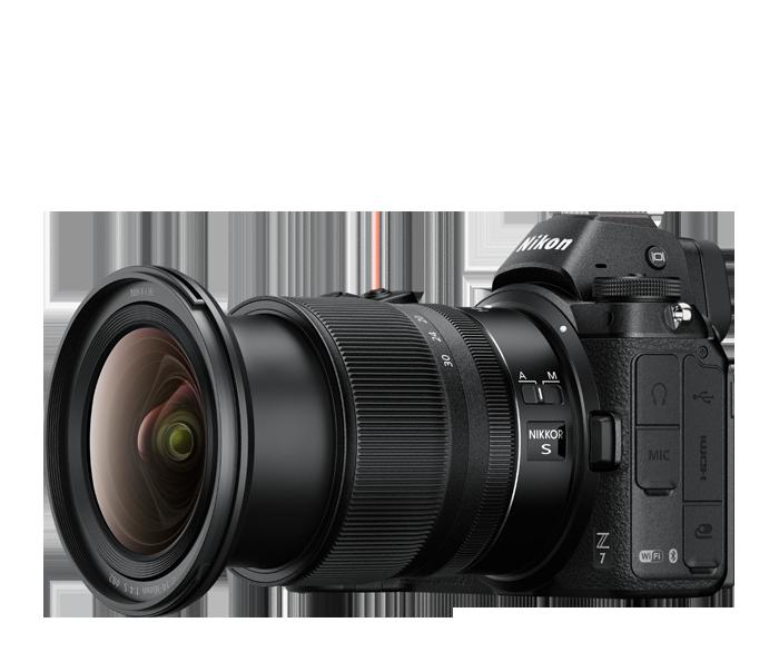 Objetivo NIKKOR Z 14-30 mm f/4.0 S+Z7