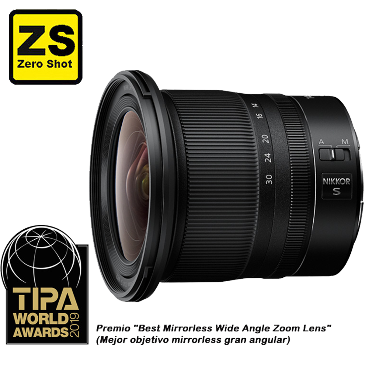 Objetiva NIKKOR Z 14-30 mm f/4.0 S (Zero Shot)