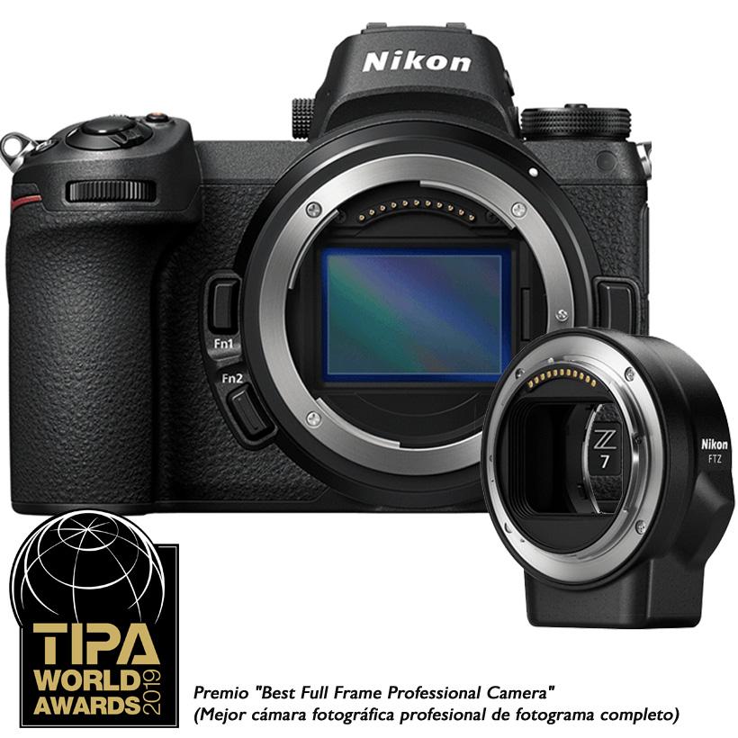 Câmera Nikon Z 7 + Adaptador FTZ