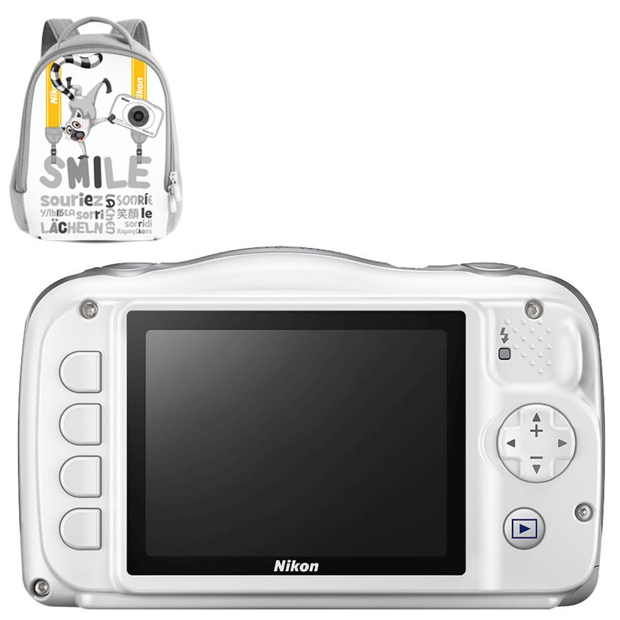 Cámara Nikon COOLPIX W150 White
