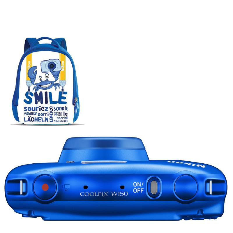 Cámara Nikon COOLPIX W150 Blue