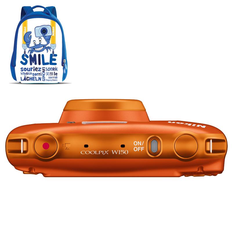 Cámara Nikon COOLPIX W150 Orange