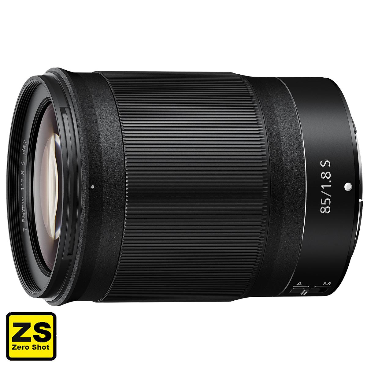 Objetiva NIKKOR Z 85 mm f/1.8 S (Zero Shot)