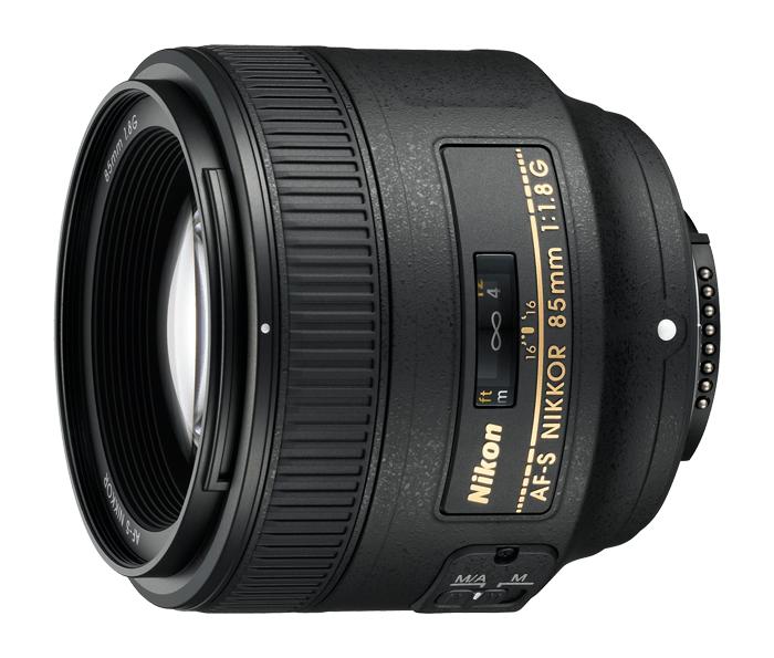 Objetiva AF-S NIKKOR 85mm f/1.8G