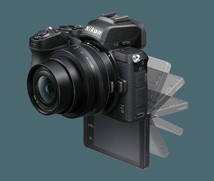 Cámara Nikon Z50 + NIKKOR Z 16-50 DX VR