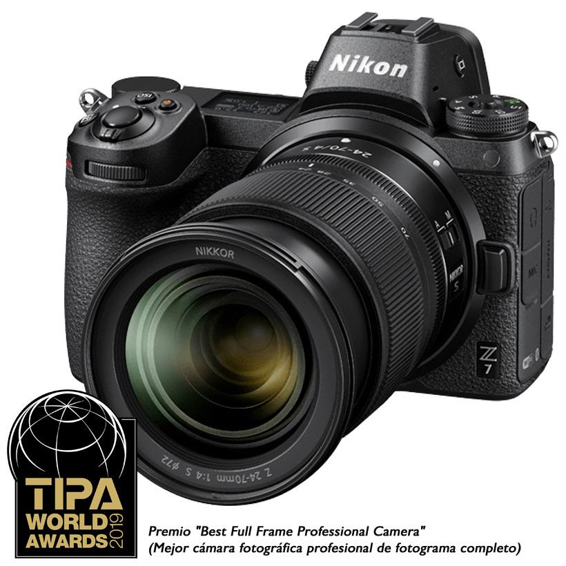Câmera Nikon Z 7 + Objetiva NIKKOR Z 24-70mm f/4 S