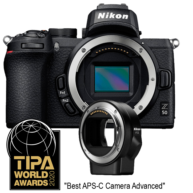 Câmera Nikon Z 50 + FTZ