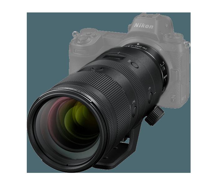 Objetivo NIKKOR Z 70-200mm f/2.8 VR S