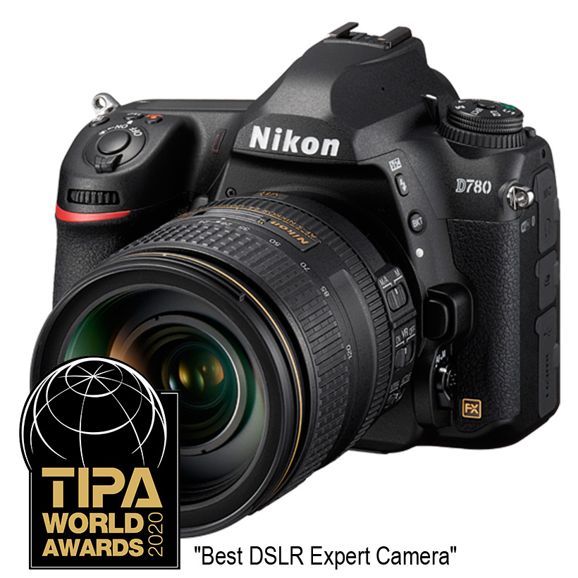 Câmera Nikon D780 + Objetiva AF-S NIKKOR 24-120mm f/4 ED VR