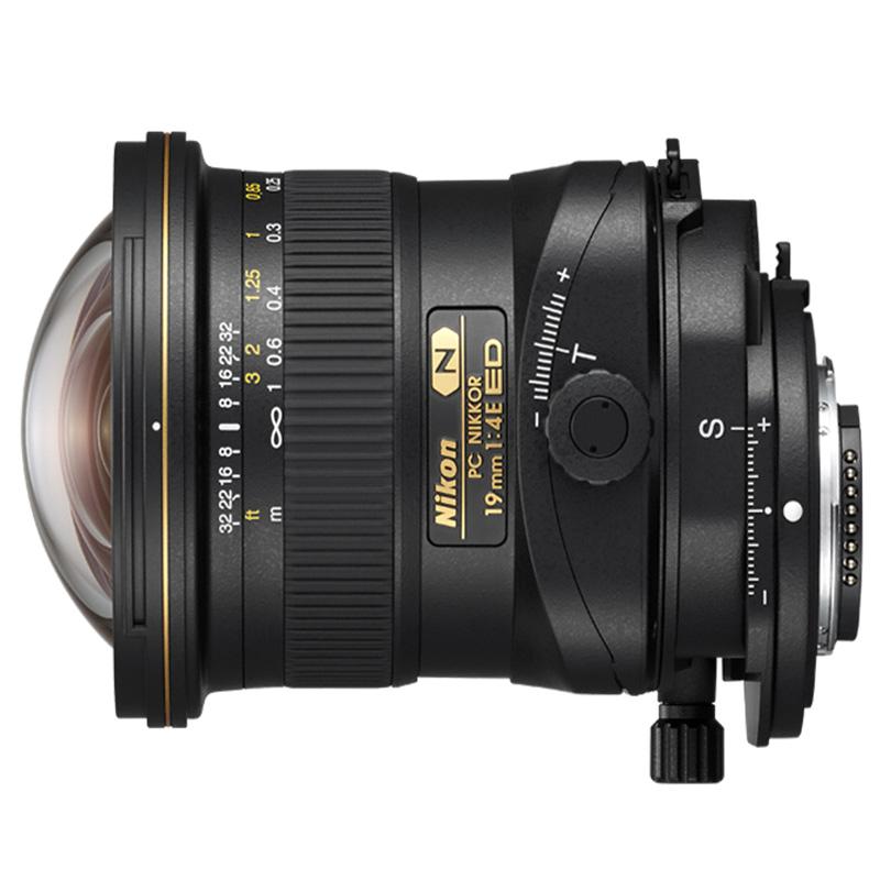 Objetiva PC-E Micro NIKKOR 19mm f/4 ED
