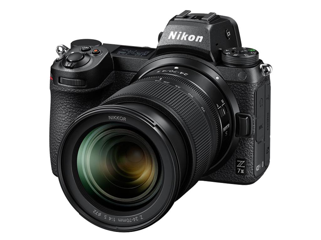 Câmera Nikon Z 7II + NIKKOR Z 24-70 S
