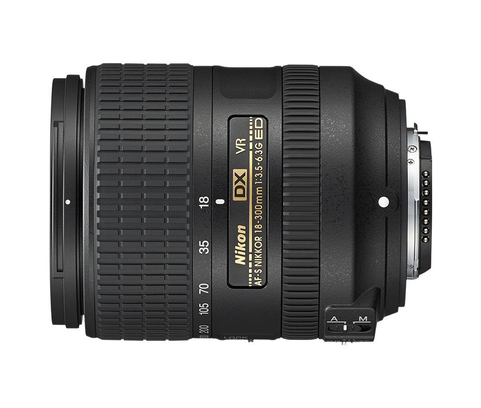 Objetiva AF-S DX NIKKOR 18-300mm f/3.5-6.3 G ED VR