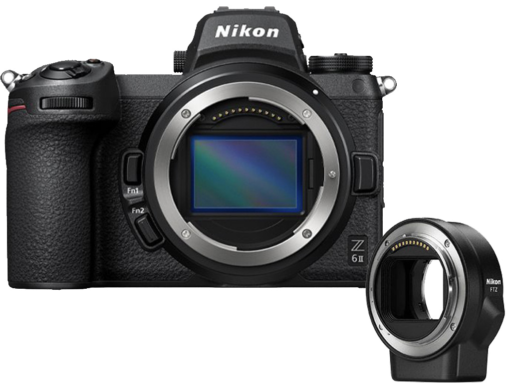 Câmera Nikon Z 6II + Adaptador FTZ