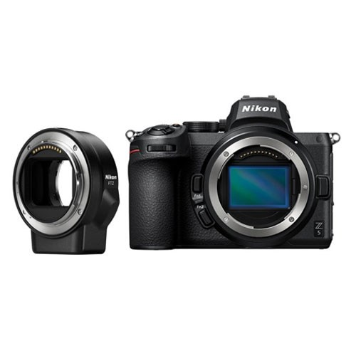 Câmera Nikon Z 5 + Adaptador FTZ