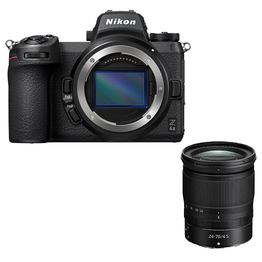 Câmera Nikon Z 6II + Objetiva NIKKOR Z 24-70 mm f/4